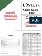 Alarma Crime Guard 830i6 (Instalacion)