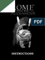 Alexander Instructions En