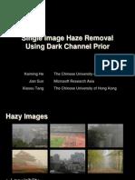 Single Image Haze Removal Using Dark Channel Prior參考