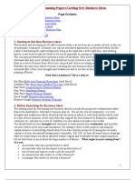 Business Planning Papers
