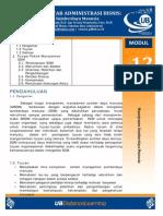 Modul 12. Manajemen Sumberdaya Manusia