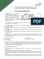 Lista de Exercícios - 1º F
