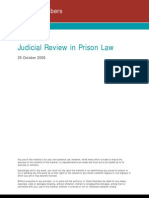 Basic Judicial Review for Prison Lawyers