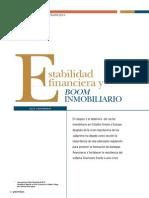 Estabilidad Financiera y Boom Inmobiliario