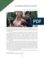 Las Femen un Feminismo Neocolonial