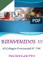 1° Reunión de Padres_INGRESANTES 2014