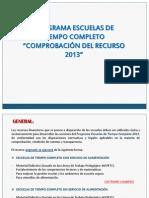 ASESORÍA PROGRAMA TC 2013
