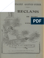 Reclams de Biarn e Gascougne. - Anade 49, n°01-03 (Yené-Mars 1945)