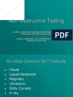 Non-Destructive Testing (CHAPTER 6)