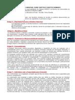 Princípos de Bioética - Declaração Universal sobre Bioética e Direitos Humanos - Apresentação em word