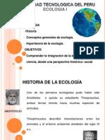 Clase 1 Introduccion a La Ecologia