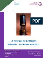 La Gestion de Derechos Mineros y de Hidrocarburos - Juan Herrera Herbert, Jorge Castilla Gomez
