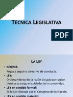Clase Técnica Legislativa 2013 97-2003.ppt