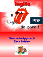 O inglês no dia-a-dia do brasileiro