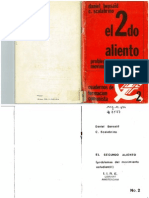 Bensaid, D. Scakabrino, C. El Segundo Aliento