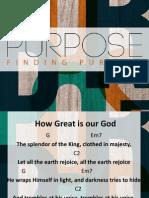 purpose - lesson 4