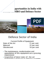 Business Opportunities in India With a Focus on MRO and Defence Sector