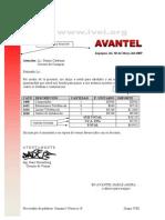 Microsoft Word - Avantel