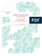 Design for social innovation as a form of designing activism. An action format