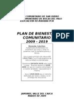 plan de bienestar comunitario completo