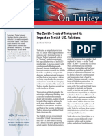 The Double Souls of Turkey and its Impact on Turkish-U.S. Relations