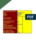 Caida de Tensión URB. BARRANCO C-1-1