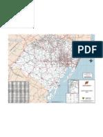 Mapa Rodoviário do Rio Grande do Sul (2001)