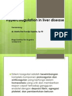 Hypercoagulation in Liver Disease 1