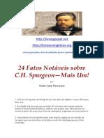 24 Fatos Notáveis sobre Charles Spurgeon
