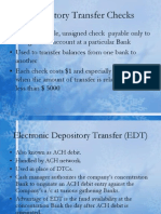 ch10depository transfer checks