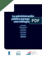 La Administración Pública paraguaya  una radiografía
