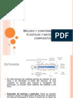 Moldeo y conformación de plásticos y materiales compuestos