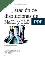 Practica de NaCl