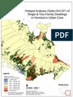 SFDTFD Centroid Urban Core Hotspot