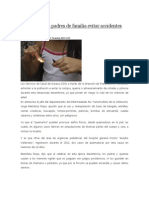 13/12/13 News Exhorta SSO a Padres de Familia Evitar Accidentes