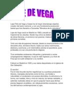 Lope Félix de Vega
