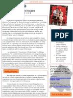 November Ministry Newsletter 2013