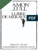 Llibre de Meravelles Llull MOLC