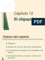 Lec 2 Preliminary Pindyck Cap12 Oligopolio 82 Slides
