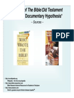 Part III Documentary Hypothesis
