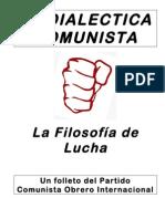 Dialectica Comunista Guia
