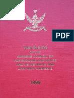 Aasr Rules