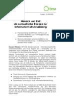 Pressemitteilung Semantic Structuring 010909