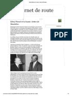 Meïr Waintrater - Edwy Plenel et la fausse «lettre de Mandela»