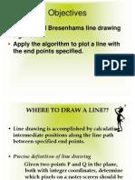 Mod-2 , Bresenhams Line Drawing Algorithm