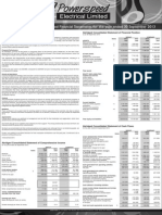 PWS Audited Results for FY Ended 30 Sep 13