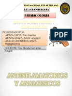 Antinflamatorios y Analgesicos Ssss