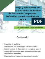 Microscop i o Electronic o Barri Do