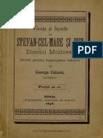 Vieaţa şi faptele lui Stefan-cel-Mare şi Bun Domnul Moldovei - Scrisă pentru înţelegerea tuturor