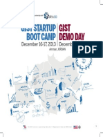 GIST Jordan Boot Camp & DEMO DAY